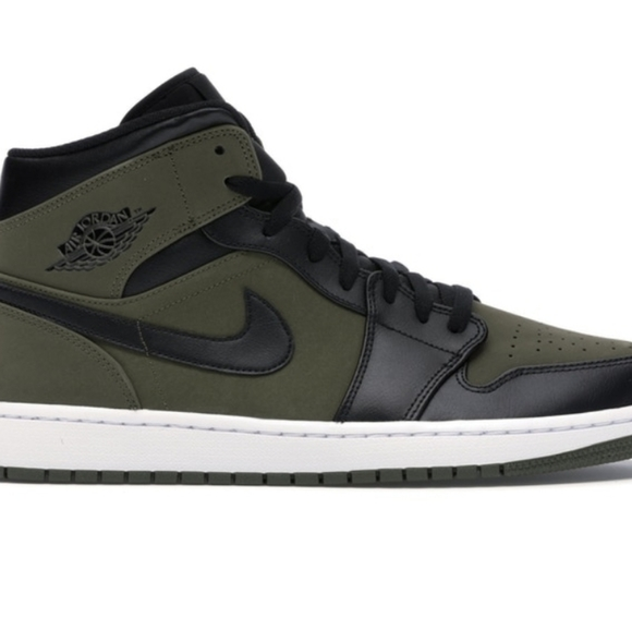 "Jordan Other - Jordan 1 Mid ""Olive Canvas"""